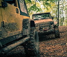 auto insurance coverage for two modified jeeps off roading and mudding